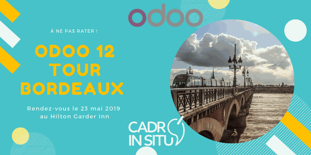 Odoo Tour Bordeaux 2019